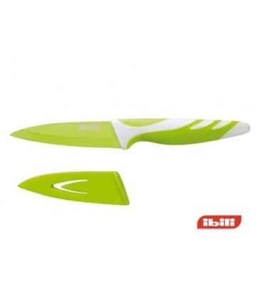 Cuchillo 8 cm IBILI 727608 Verde