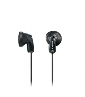 Auriculares botón Sony MDR-E9LPB Negro
