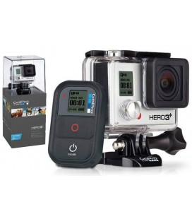 CAMARA GOPRO HERO 3+ BLACK ADVENTURE ED. 4K 12MP +MANDO