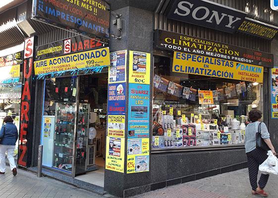 Tienda Electrodomésticos Suárez Granada