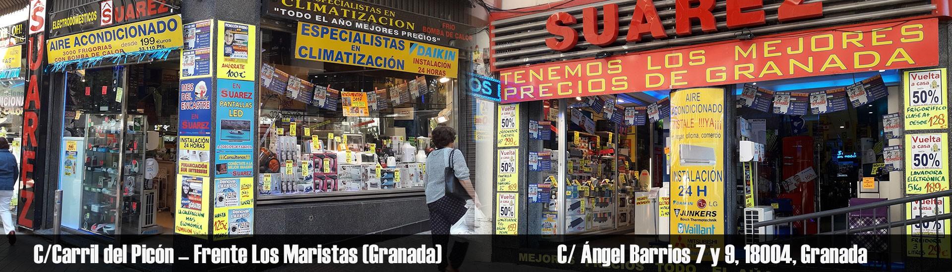 Tiendas en Granada - Electrodomésticos Suárez